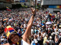 Thousands Flood Streets of Venezuela's Major Cities Demanding End to Socialist Regime