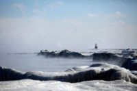 Ice covers Lake Michigan's shoreline as temperatures dropped to -20 degrees F (-29C) on January 30, 2019 in Chicago, Illinois. - Frostbite warnings were issued for parts of the US Midwest on January 30, 2019, as temperatures colder than Antarctica grounded flights, forced schools and businesses to close and disrupted …