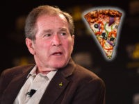 George W. Bush Delivers Pizza to Secret Service, Calls for Government to Re-Open