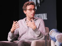 "NEW YORK, NY - OCTOBER 25: Jonah Peretti, Co-Founder of Buzzfeed (L) and Actress Lena Waithe speak onstage for The Power of Human Connection in Creativity: A Conversation with Lena Waithe, Emmy-Winning Writer and Actress, ""Master Of None"" and Jonah Peretti, Founder and CEO, BuzzFeed during the Fast Company Innovation …"