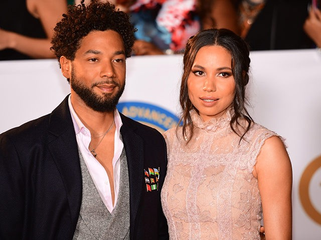 PASADENA, CA - JANUARY 15: Jessie Smollett (L) and Jurnee Smollett attend the 49th NAACP Image Awards at Pasadena Civic Auditorium on January 15, 2018 in Pasadena, California. (Photo by Matt Winkelmeyer/Getty Images)