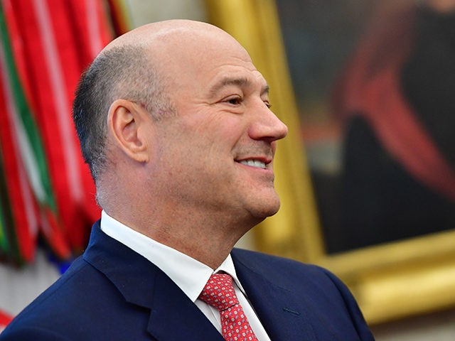 WASHINGTON, DC - MARCH 20: Outgoing White House chief economic adviser Gary Cohn attends a meeting with President Donald Trump and the Crown Prince Mohammed bin Salman of the Kingdom of Saudi Arabia in the Oval Office at the White House on March 20, 2018 in Washington, D.C. (Photo by …