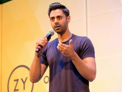NEW YORK, NY - JULY 21: Hasan Minhaj performs onstage during OZY FEST 2018 at Rumsey Playfield, Central Park on July 21, 2018 in New York City. (Photo by Matthew Eisman/Getty Images for Ozy Media)