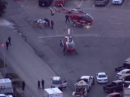 Houston police officers shot.