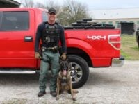 Fayette County Sheriff's Office Sgt. Randy Thuman and his K-9 partner Kolt seized $1.5 million in cocaine. (Photo: Fayette County Sheriff's Office)