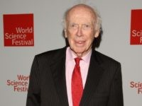 "Nobel Prize winner James Watson, the ""Father of DNA"""