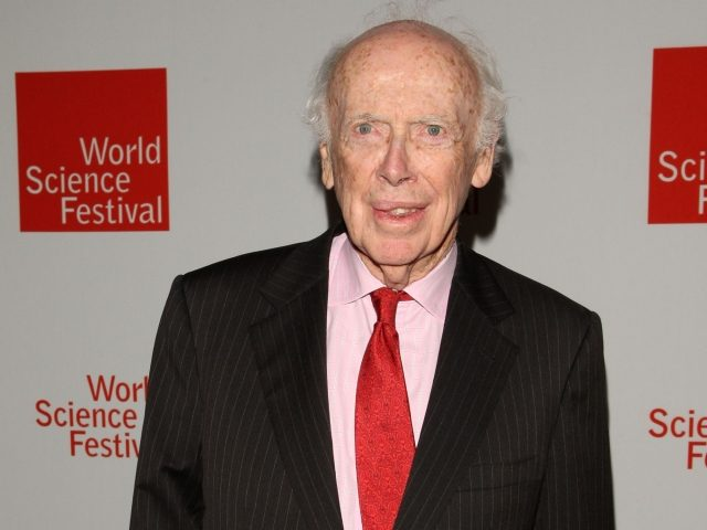 """Nobel Prize winner James Watson, the """"Father of DNA"""""""