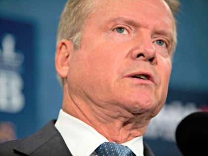 DEM 2016 Webb Former Virginia Sen. Jim Webb announces he will drop out of the Democratic race for president, Tuesday, Oct. 20, 2015, during a news conference at the National Press Club in Washington.