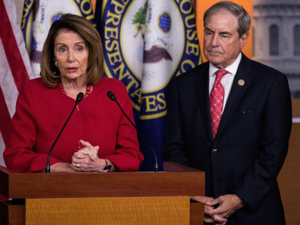 John Yarmuth and Nancy Pelosi (Drew Angerer / Getty)