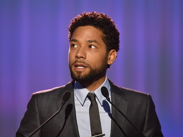 LOS ANGELES, CA - JUNE 03: Host Jussie Smollett speaks onstage at the 16th Annual Chrysalis Butterfly Ball on June 3, 2017 in Los Angeles, California. (Photo by Alberto E. Rodriguez/Getty Images for Chrysalis Butterfly Ball)