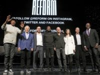 "Entrepreneur ad recording artist Shawn ""Jay-Z"" Carter, from left, gestures as he poses with New England Patriots owner Robert Kraft, Philadelphia 76ers co-owner and Fanatics executive chairman Michael Rubin, recording artist Meek Mill, Galaxy Digital CEO and founder Michael Novogratz, Brooklyn Nets co-owner Clara Wu Tsai, Third Point CEO and …"