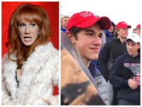Kathy Griffin Calls for Doxxing High School Kids: 'I Want NAMES, Shame Them'
