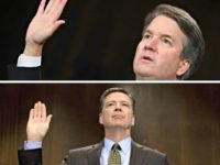 Kavanaugh and Comey Take the Oath