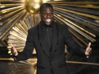 "FILE- In this Feb. 28, 2016, file photo, Kevin Hart speaks at the Oscars at the Dolby Theatre in Los Angeles. Atria Publishing Group announced Tuesday, March 22, 2016, that Hart will release a memoir, ""From the Hart,"" about his early life and failures that gave him the motivation to …"