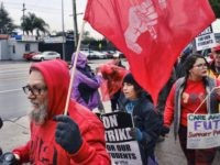 'Democratic Socialists' Join L.A. Teachers' Strike, Confront Substitute Teachers: 'Scabs'