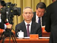 In this Jan. 2, 2019, file photo, Chinese Vice Premier Liu He attends an event to commemorate the 40th anniversary of the Message to Compatriots in Taiwan at the Great Hall of the People in Beijing. China's economy czar, Liu will visit Washington on Jan. 30-31 for talks aimed at …