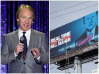 Kevin Winter/Getty Images for PETA/Twitter screenshot: billmaher