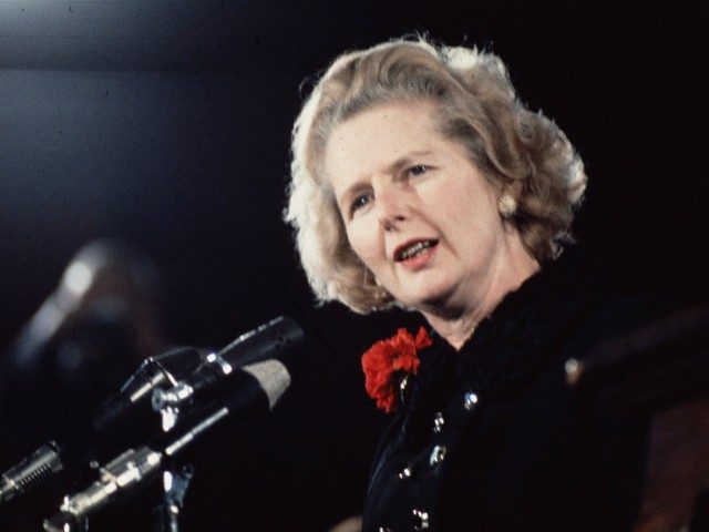 1975: Margaret Thatcher takes over from Edward Heath as the new leader of the Conservative Party. (Photo by Hulton Archive/Getty Images)
