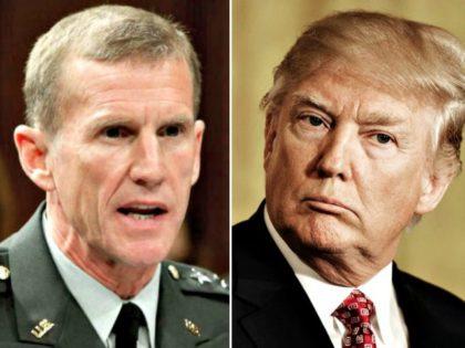 McChrystal, Trump