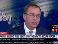 White House chief of staff Mick Mulvaney