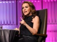 LOS ANGELES, CA - NOVEMBER 01: Alyssa Milano attends TheWrap's Power Women Summit at InterContinental Los Angeles Downtown on November 1, 2018 in Los Angeles, California. (Photo by Presley Ann/Getty Images)