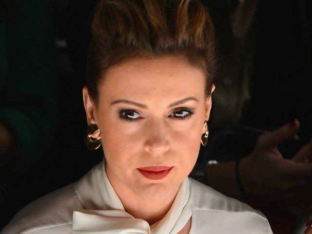 Alyssa Milano Extends 'Olive Branch to Trump Supporters' After Years of Smears, from Klansman to Misogynist Bigots