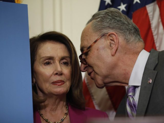 Nancy Pelosi and Chuck Schumer (Aaron P. Bernstein / Getty)