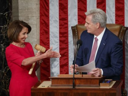 Nancy Pelosi and Kevin McCarthy (Carolyn Kaster / Associated Press)