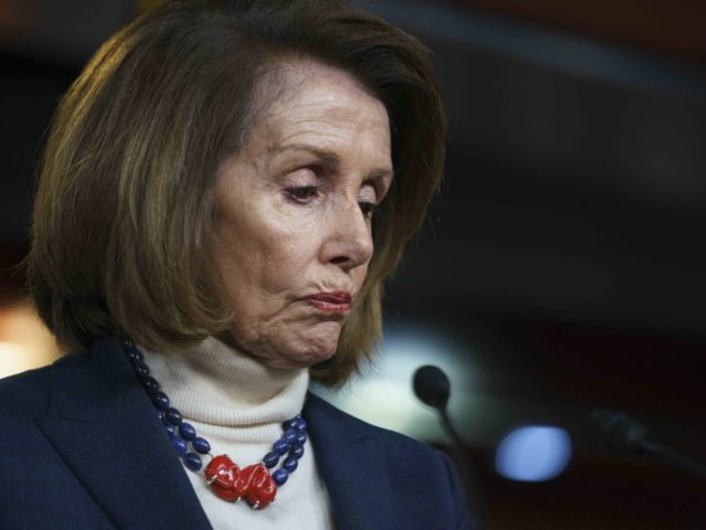Nancy Pelosi frowns (Carolyn Kaster / Associated Press)