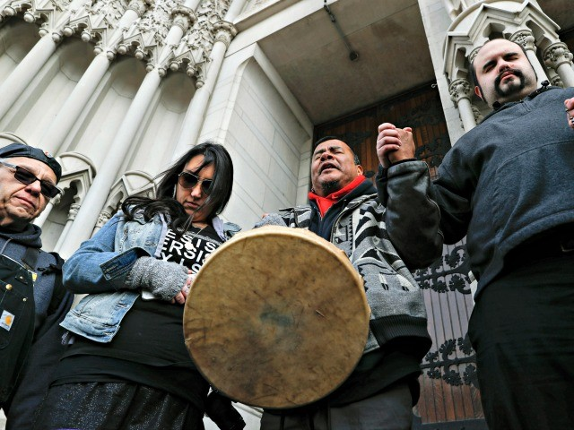 Native American Activist at Covington: 'Borders Are White Supremacist Tools of Oppression,' Americans Are 'Invaders'
