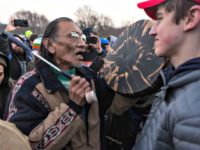 Nick Sandmann, Covington, Native American