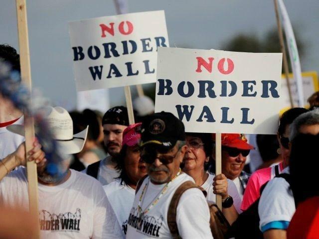 No Border Wall AP Eric Gay