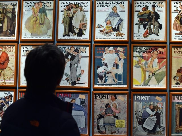 Norman Rockwell covers for the Saturday Evening Post