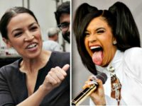 Alexandria Ocasio-Cortez Shows Support For Far-Left Cardi B