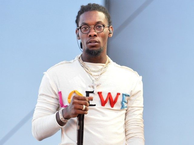 LAS VEGAS, NV - SEPTEMBER 23: Offset of Migos performs onstage during the Daytime Village Presented by Capital One at the 2017 HeartRadio Music Festival at the Las Vegas Village on September 23, 2017 in Las Vegas, Nevada. (Photo by Bryan Steffy/Getty Images for iHeartMedia)
