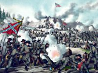 Painting- Civil War Battle