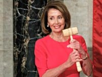 House Speaker Nancy Pelosi of California holds the gavel after at the Capitol in Washington, Thursday, Jan. 3, 2019.
