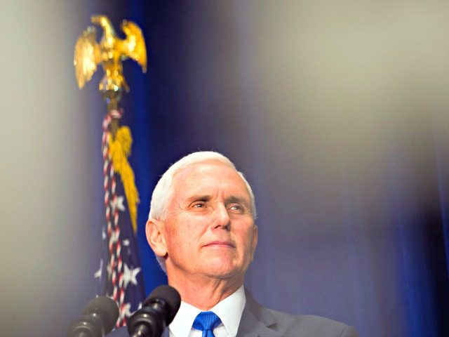 Vice President Mike Pence speaks at 2019 March for Life dinner in Washington, Friday, Jan. 18, 2019.