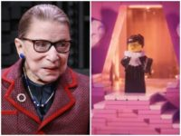 Ruth Gader Ginsburg to Have Cameo Role in 'Lego Movie 2'