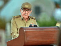 he First Secretary of the Cuban Communist Party, Raul Castro, gives a speech on January 1, 2019, during the celebration of the 60th anniversary of the Cuban Revolution at the Santa Ifigenia Cemetery in Santiago de Cuba. - On January 1, Cuba marked the 60th anniversary of the Communist Revolution …