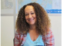 In this March 20, 2017, file photo, Nkechi Diallo, then known as Rachel Dolezal, poses at the bureau of The Associated Press in Spokane, Wash. The former NAACP leader in Washington state, whose life unraveled after she was exposed as a white woman pretending to be black, has pleaded not …