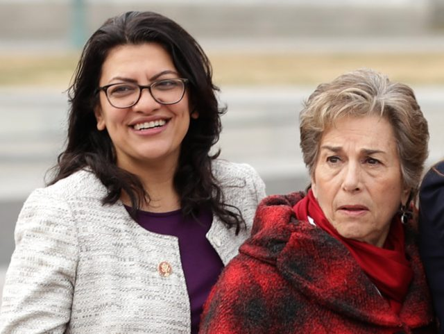 Rashida Tlaib and Jan Schakowsky