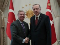 Sen. Lindsey Graham Meets with Erdogan to Discuss Syrian Kurds