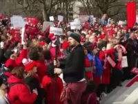 #RedForEd rally in Richmond, Virginia