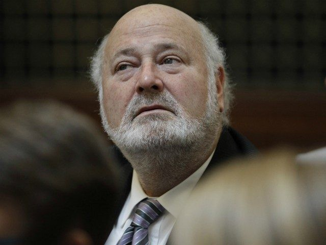 Rob Reiner, actor, director, producer, writer, and political activist, listens in a courtroom during a California State Supreme Court hearing in San Francisco, Tuesday, Sept. 6, 2011. On Tuesday, the California Supreme Court will be considering whether the sponsors of Proposition 8 have a legal right to appeal the federal …