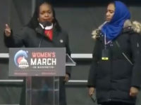 Rev. Jacqui Lewis, a Senior Minister at Middle Collegiate Church in New York, took the stage Saturday at the Women's March and announced what she believed to be Americans' greatest enemies.