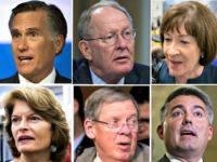 Romney, Alexander, Collins, Gardner, Isakson, Murkowski