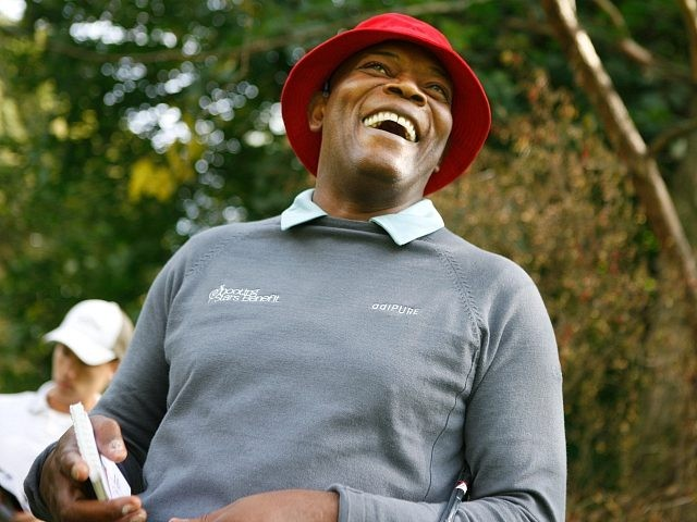 BAD RAGAZ, SWITZERLAND - SEPTEMBER 16: Samuel L Jackson at the Shooting Stars Benefit 2010 Golf Tournament in aid of Samuel L Jackson foundation and Swiss Red Cross. on September 16, 2010 in Bad Ragaz, Switzerland. (Photo by Justin Hession/Getty Images for Shooting Stars)