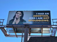 #SayAbortion Billboard
