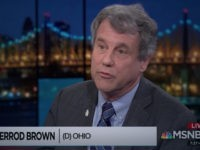 Sherrod Brown: If We Give into Trump, He Will 'Throw Another Temper Tantrum' Like a 2-Year-Old
